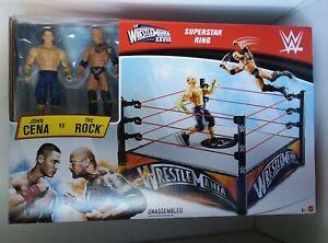 "WWE WrestleMania XXVIII Superstar John Cena VS The Rock  Ring ""NEW"""