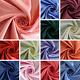 Premium Acetate Satin Fabric Medium Weight - 12 Colours 44* Wide