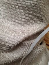 Vintage Curtain Fabric Laura Ashley Soft Truffle Dobby Weave Brocade 15 Metre