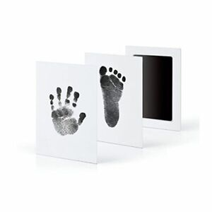 Baby Footprints Handprint Safe Non-toxic Touch Skin Inkless Pads Kits 0-6 months