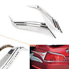 for Honda Goldwing 1800 2012-2017 Chrome Top Trunk Tail Light Decor Trim Accent