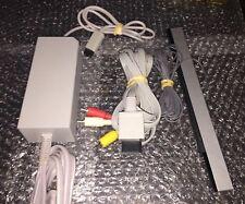 Nintendo Brand Power Cord Nintendo Wii / Av Cable + Bar Sensor Wii Hook Ups OEM