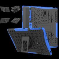 Hibrido Exterior Funda Protectora Azul para Samsung Galaxy Tab a 10.5 T590