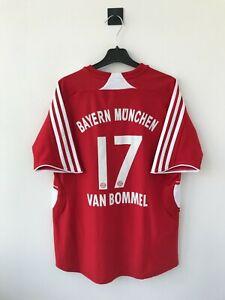BAYERN MUNICH 2007-2008 HOME FOOTBALL SOCCER SHIRT CAMISETA JERSEY ADIDAS TRIKOT