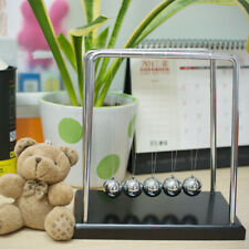 USA Large Newtons Cradle Kenetic Education Gravity Balance Balls Office Toy Good