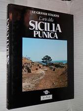 L ARTE DELLA SICILIA PUNICA Sabatino Moscati Jaca Book 1988 storia antica libro