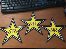Lot Of 3 Authentic Rockstar Energy Drink Stickers