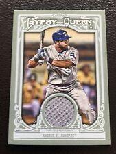 2013 TOPPS Gypsy Queen reliquie #GQR - EA Elvis Andrus Texas Rangers Baseball Card