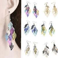 Cute Leaves Earring Bohemian Dangle Drop Earrings Boho Earbob Women Jewelry Gift