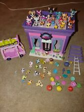 Huge Littlest pet shop lot! Includes store, bus and Lots of pets!