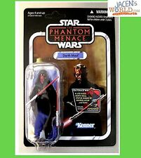 DARTH MAUL VC86 ACTION FIGURE STAR WARS THE VINTAGE COLLECTION PHANTOM MENACE