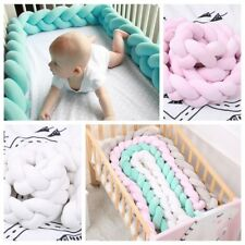 Chunky Ball Knot Long Throw Pillow Cushion Baby Cute Home Bed Decoration Safe
