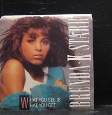 "Brenda K. Starr - What You See Is What You Get VG+ 7"" Vinyl Promo MCA-53367"