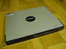 Linksys by Cisco SGE2000P 24-port 10/100/1000 Gigabit Switch with PoE