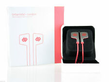 Urbanista London In Ear Stereo Headphones With Hands Free Microphone Red New