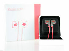 Urbanista London In Ohr Stereo Kopfhörer Mit Freisprechanlage Mikrofon Rot Neu