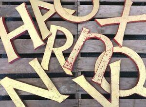 Scandi Style Gold Letters Vintage Words Christmas Wedding Venue Decoration Sign