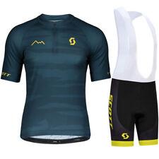 Short Sleeve Cycling Jersey Bib Bike Wear Shirts Top Tight Clothes Sports Jacket