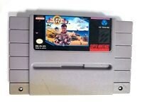 ****Super Conflict SUPER NINTENDO SNES Game TESTED + Working & Authentic!