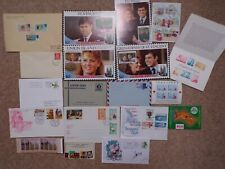 COLLECTION OF WORLD FIRST DAY COVERS FDCs etc AUSTRALIA RHODESIA ROYAL - LOT P