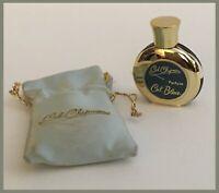 Vtg Ceil Chapman /Ceil Bleue Parfum Falcon Mini Perfume 1/5 Oz - 50% Full (H624)