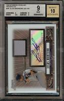 2008 Bowman Sterling Jesus Montero Rookie RC Jersey BGS 9 Autograph 10 Auto 03
