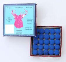 BOX 50 ELK MASTER  ELKMASTER SNOOKER CUE TIPS 9 mm