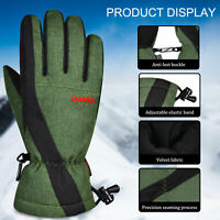 Waterproof Winter Warm Ski Gloves Windproof Thermal Touch Screen Snowboard Snow