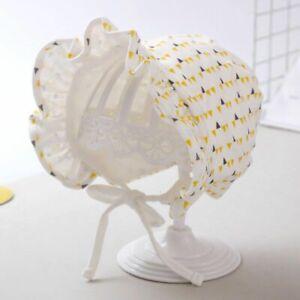 Soft Cotton Baby Hat Printed Infant Girl Bonnet Cap Outdoor Spring Autumn SunHat