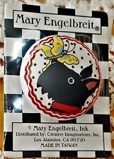 """Mary Engelbreit Ceramic Cabinet/Drawer Pull Scottie Dog Butterfly Door Knob 1.5"""""""