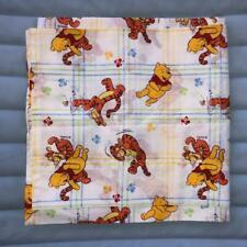 Deadstock New Vtg 80s Winnie the Pooh Disney Twin Flat Bed Sheet