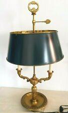 Grande lampe bouillotte empire bronze