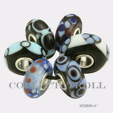 Authentic Trollbeads Sterling Silver  Malawi Kit - 6 Beads 65299 *C*