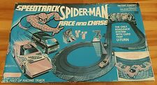 Spiderman  race and chase set 1979 speedtrack matchbox