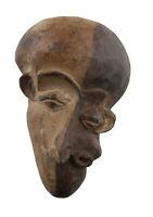 Masquette Pende Maschera Di La Malattie Africano Passaporto 15 CM Arte Primo