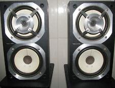 Rare Pair of Vintage Retro Funky Realistic MINIMUS-21 Speakers