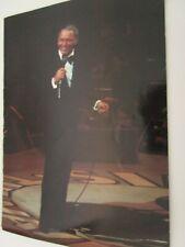 Rare Frank Sinatra Tour Program 1982