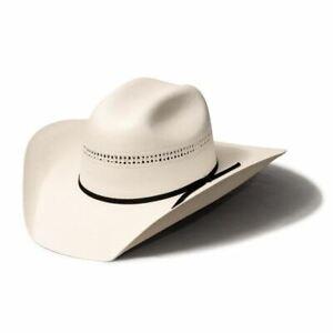 Bullhide Hats by Montecarlo - 10X White Gold Straw Cattleman Cowboy Hat