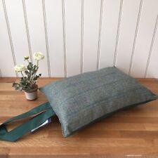 Tweedmill Garden Kneeler Event Cushion Waterproof Backing Tweed Bottle GreenGift