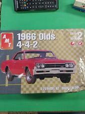 AMT 1966 Olds 4-4-2 Kit 1/25 Scale Model Kit 31213 Sealed