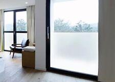 18,03€/m² Blickdichte Weiße Milchglas Fensterfolie 1m x61 cm UV Sichtschutz