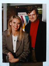 Colour 6x8 press PHOTO  Anneka Rice and Stephen Gardner