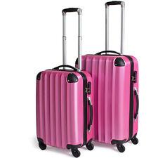 2tlg Reisekoffer Set Trolley Hartschale Hartschalenkoffer Reisekofferset B-Ware