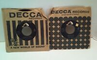 "Lot of 2 Elvis Presley 7"" Vinyl Records 45 RPM Return To Sender RCA Jordanaires"