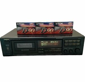VTG Onkyo TA-R301 Stereo Cassette Tape Deck Recorder HX Pro Made in Japan Tested