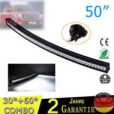 """50"""" 288W LED Kurve Arbeitsscheinwerfer Auto Lichtbalken Jeep Pkw LKW light bar"""