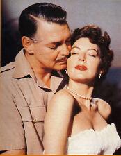 Großfoto / Starfoto  Clark Gable + Ava Gardner