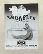 D796 - Advertising Pubblicità - 1980 - ONDAFLEX LA MODERNA RETE PER IL LETTO