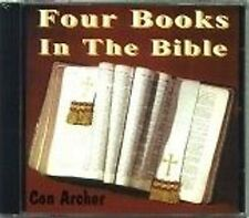 Con Archer - Four Books In The Bible  RARE Canadian Gospel CD (Brand New!)
