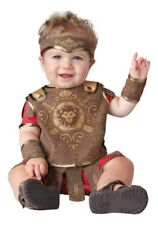 INFANT GLADIATOR COSTUME SIZE S(6-12MO) (MISSING HEADPIECE)